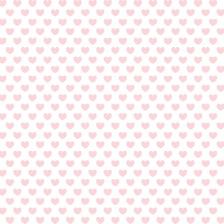 cuori rosa forma sfondo. illustrazione vettoriale