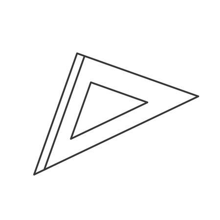 millimeters: squad ruler geometric school tool over white background. vector illustration