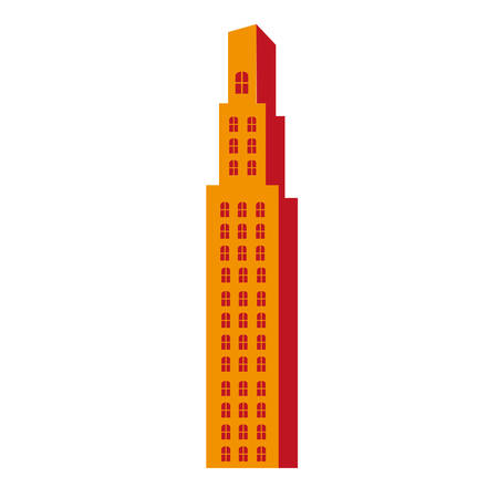 city building pictogram icon image vector illustration design