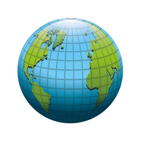 惑星地球アイコン画像ベクトル イラスト デザイン