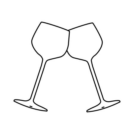 wine related icon image vector illustration design
