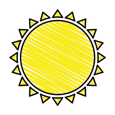 representation: sun representation icon image vector illustration design Illustration