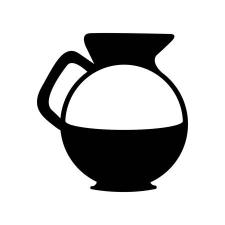 flavored: coffee kettle icon image vector illustration design