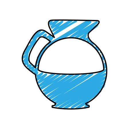 coffee kettle icon image vector illustration design