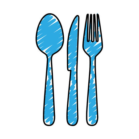 dinning table: cutlery icon image simple vector illustration design Illustration