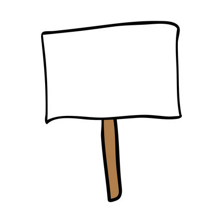 protest design: protest sign cartoon icon image vector illustration design