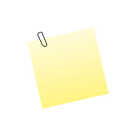 sticky or adhesive note icon image vector illustration design