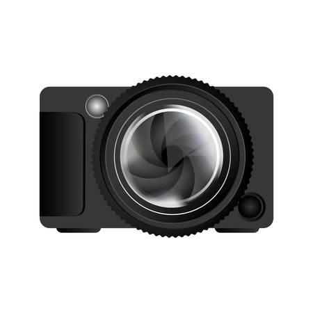 digicam: photographic camera icon image vector illustration design