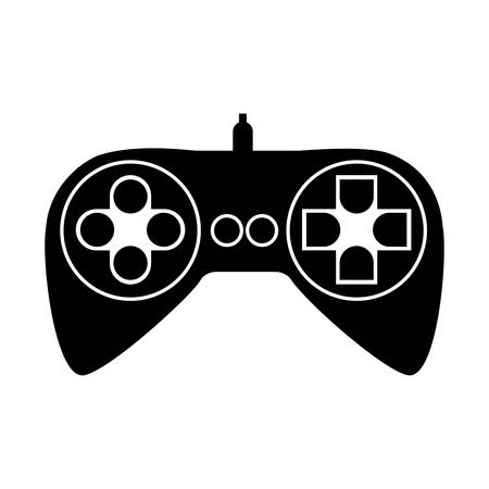 videogame: videogame controller icon image vector illustration design