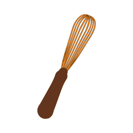 whisk or egg beater icon image vector illustration design