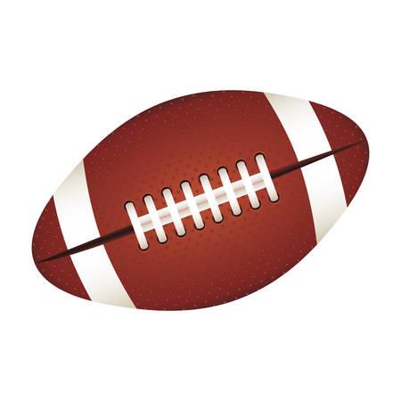lacing: american football ball icon image vector illustration design