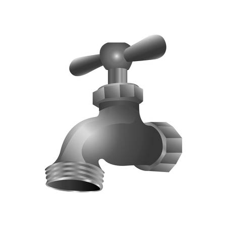 ooze: faucet or tap icon image vector illustration design Illustration
