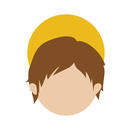 young jesus icon image vector illustration  design