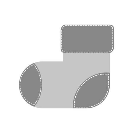 child sock icon image vector illustration design