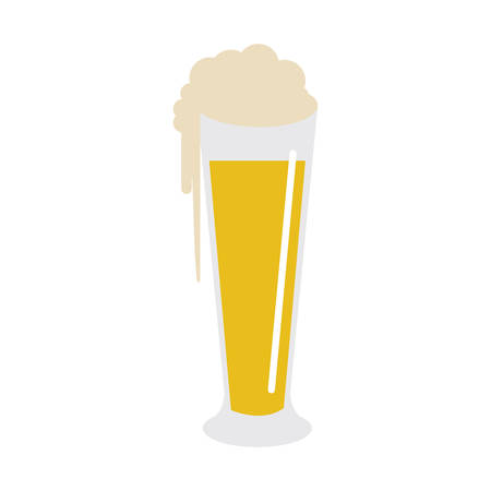beer glass icon image vector illustration design