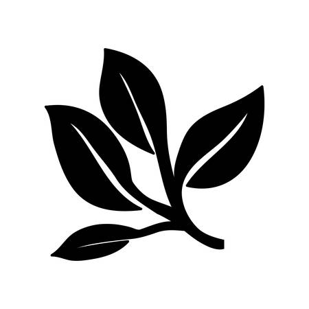 vegetate: leaves or sprout icon image vector illustration design