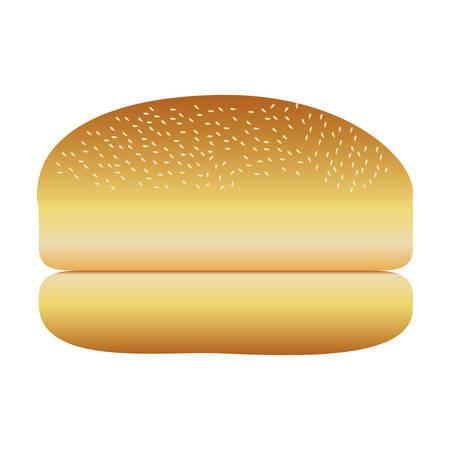 bread pastry icon image vector illustration design Illustration