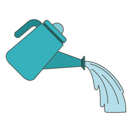 Watering can icon. Gardening nature green and home theme. Isolated design. Vector illustration