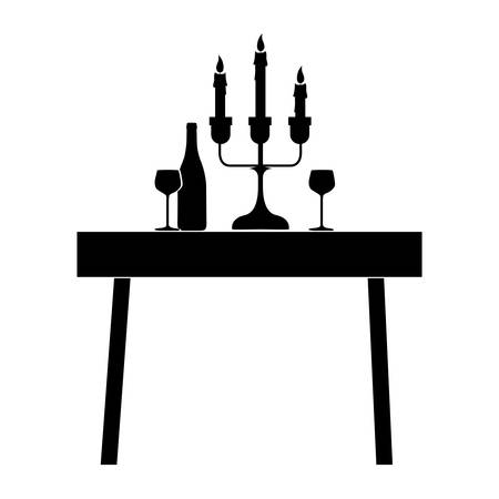 dining table: dining table icon image vector illustration  design
