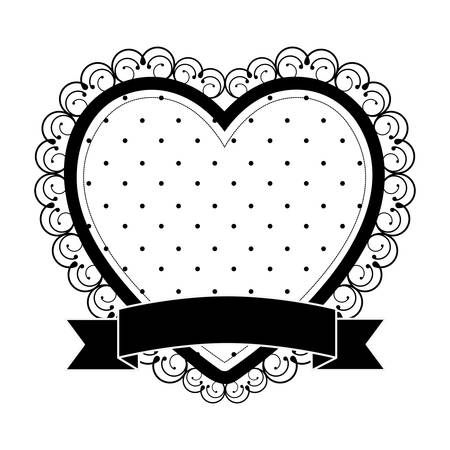 heart cartoon emblem icon image vector illustration  design