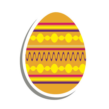 easter egg icon image vector illustration design
