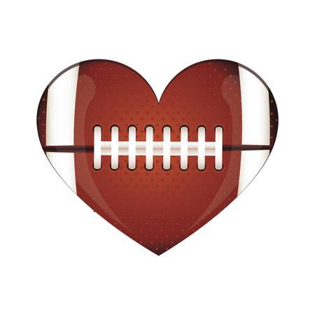 american football icon image vector illustration design Vettoriali