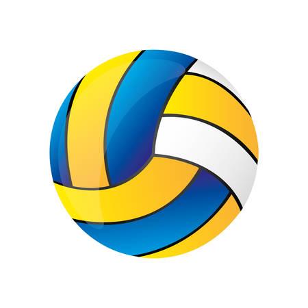 volleyball ball icon image vector illustration design Vektorové ilustrace