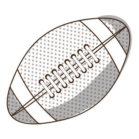 lacing: football ball icon image vector illustration design Illustration