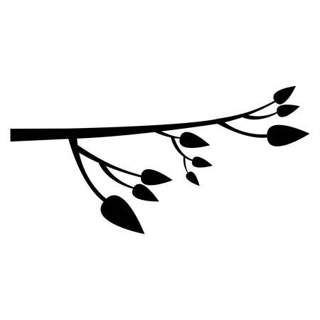Baumzweig Symbol Bild Vektor-Illustration Design