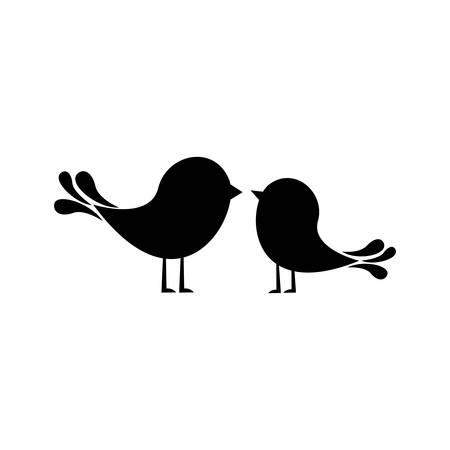 lovebirds: lovebirds cartoon icon image vector illustration design