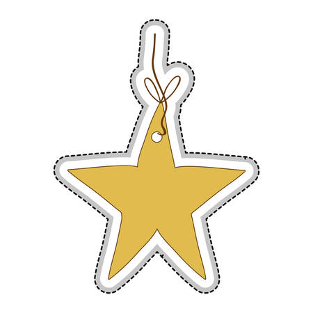 star ornament icon image vector illustration design Illustration