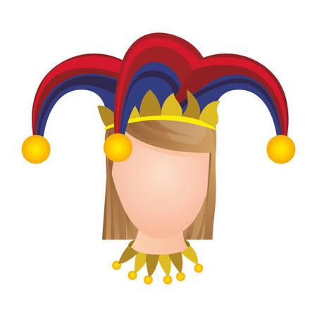 arlecchino: icona dei arlecchino illustrazione immagine vettoriale progettazione