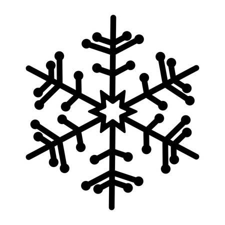 slope: snowflake creative icon image vector illustration design