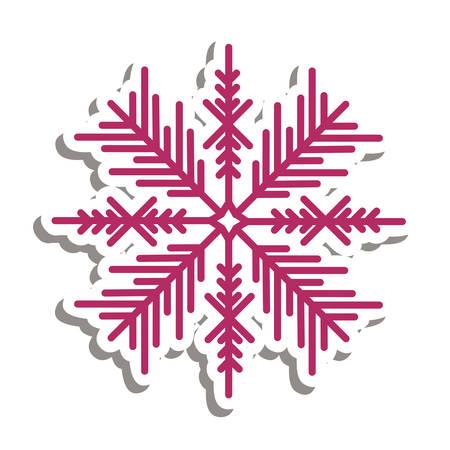 slopes: snowflake creative icon image vector illustration design