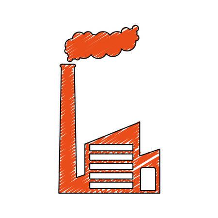 factory industrial icon image vector illustraton design
