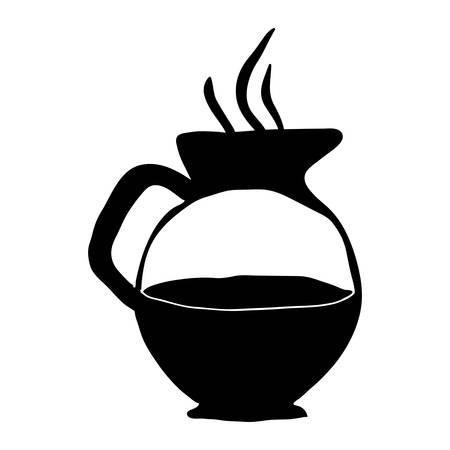 roasting: coffee kettle icon image vector illustration design