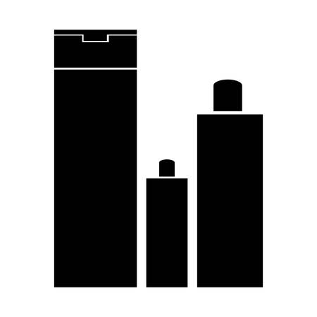 luxury condo: bathroom products icon image vector illustration design