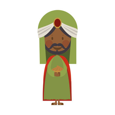 balthazar magi or wise men  icon image vector illustration design Illustration