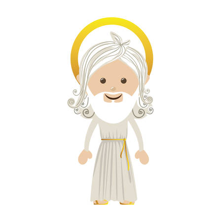 god representation icon image vector illustration design Vectores