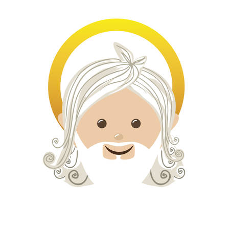 miracles: god representation icon image vector illustration design Illustration