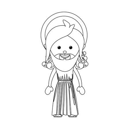 eden: god representation icon image vector illustration design Illustration