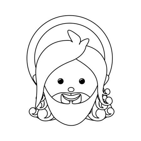 representation: god representation icon image vector illustration design Illustration