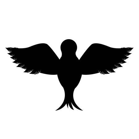 aerial animal: peace dove icon image vector illustration design