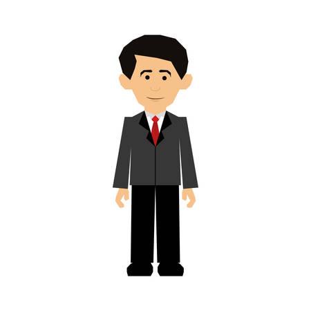 formal dress: formal dress man icon image vector illustration design Illustration