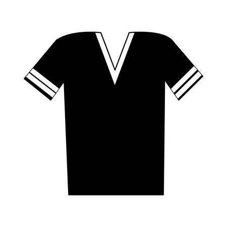 v neck t shirt icon image vector illustration design Vektoros illusztráció