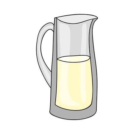 milkman: milk jug icon image vector illustration design