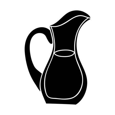 filled jug icon image vector illustration design Illustration