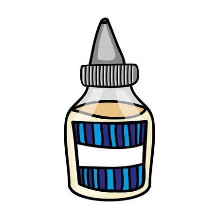 sauce bottle icon image vector illustration design