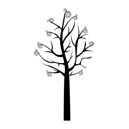 nude outdoors: naked, tree icon image vector illustration design