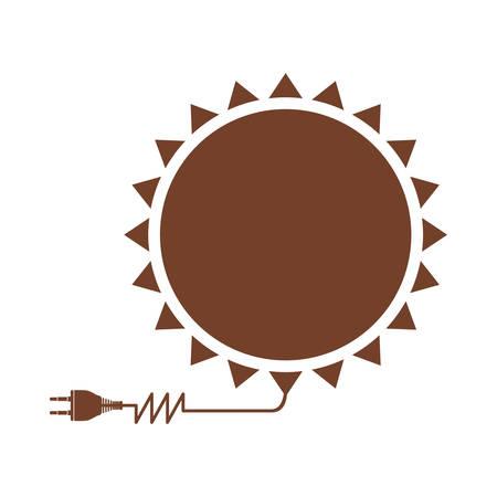 sun energy: sun energy icon image vector illustration design